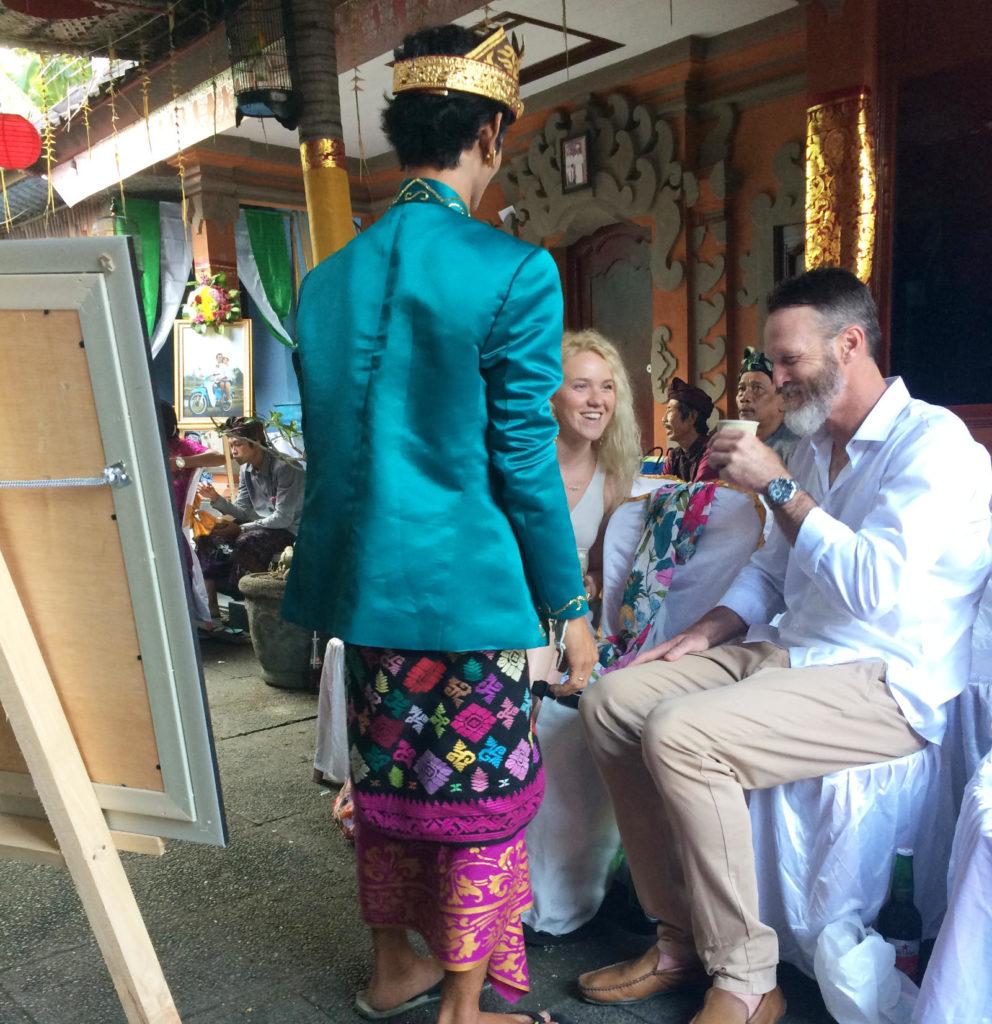 Svatba na Bali
