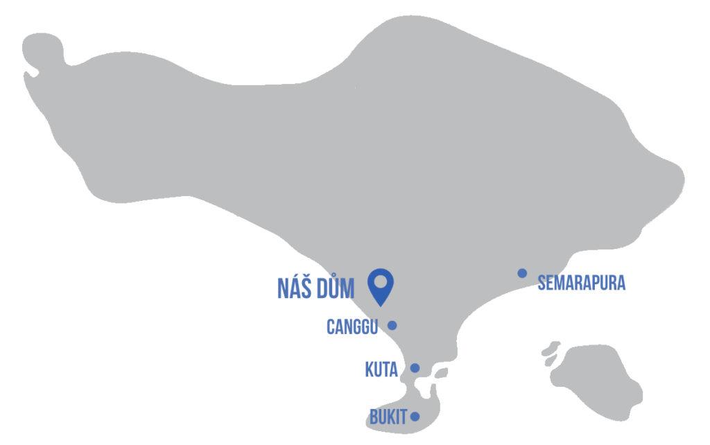 grey Bali map
